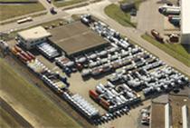 Μάντρα αποθεμάτων (στοκ) pk trucks holland